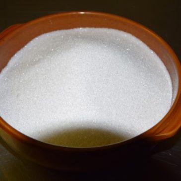Du vrai sucre  ( pas de glucose dans ma Crème de Caramel !)