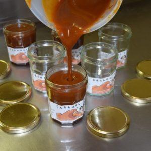 remplissage caramel